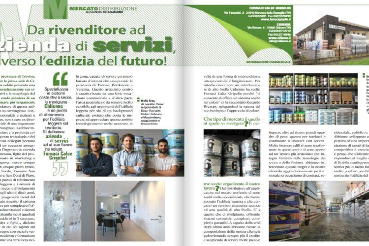 INTERVISTA SULLA RIVISTA DI SETTORE COLORE&HOBBY