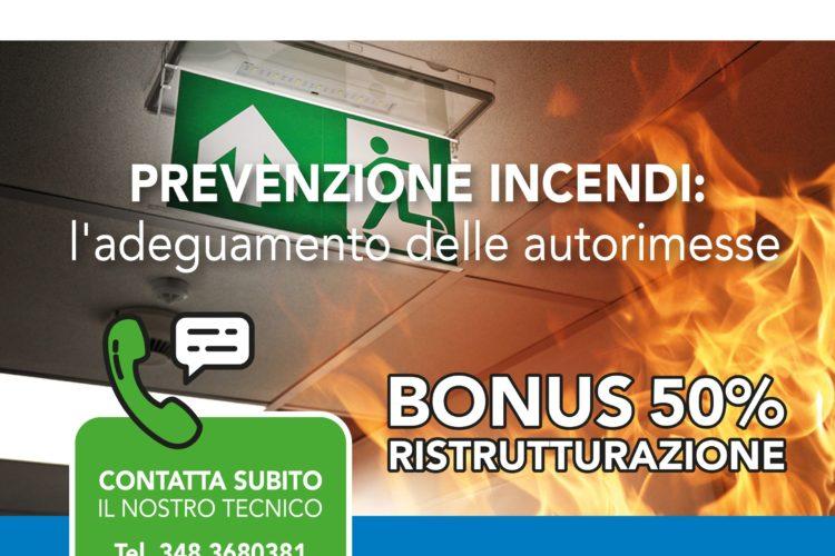 NUOVE NORME ANTINCENDIO PER LE AUTORIMESSE E BONUS RISTRUTTURAZIONE 50%